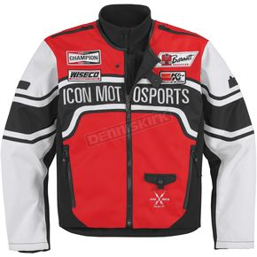 Icon Red Brawnson Sidewinder Jacket - 2820-2053