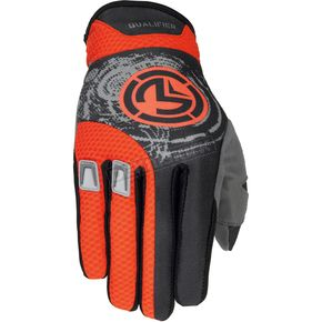 Moose Red Qualifier Gloves - 33302456