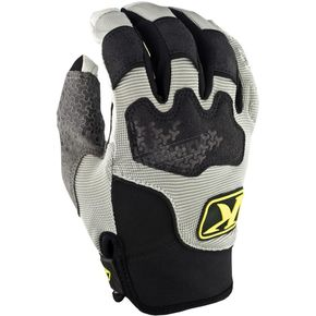 Klim Gray Dakar Gloves (Non-Current) - 3167-001-140-600
