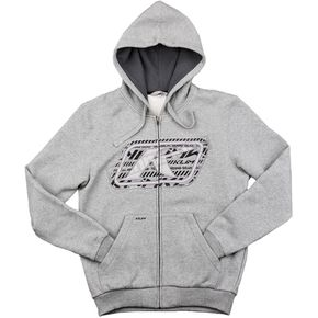 Klim Heather Gray Rider Hoody - 6012-130