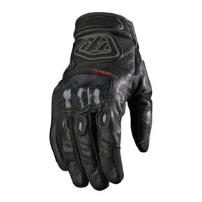 Troy Lee Designs Black Apex Pro Gloves - 2002-0208