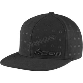 Icon Black Emboss Hat - 25011176