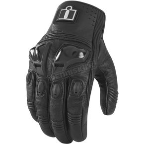 Icon Black Justice Touchscreen Gloves - 3301-1609