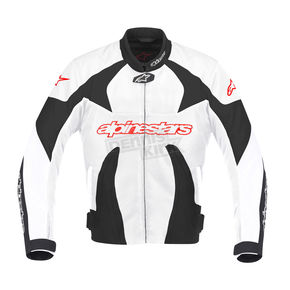 Alpinestars Black/White T-GP Plus Air Jacket - 3300112-132-L