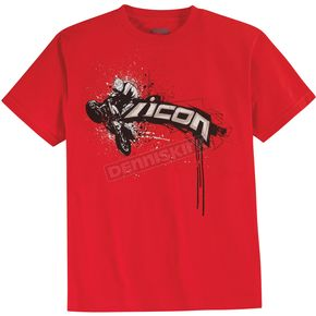 Icon Red Loft T-Shirt - 3030-6356