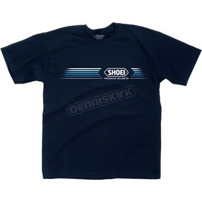 Shoei Helmets Speed Blue Tee Shirt - 0411-0402-08
