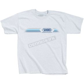 Shoei Helmets Speed White Tee Shirt - 0411-0409-08