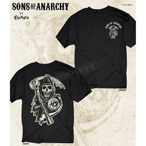 Sons of Anarchy Black Reaper Two Sided T-Shirt - 28-635-75-XXL