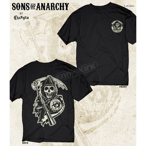 Sons of Anarchy Black Reaper Two Sided T-Shirt - 28-631-76-M