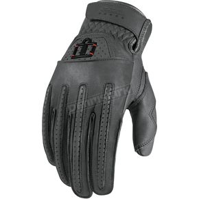 Icon 1000 Gray Rimfire Gloves - 3301-1623