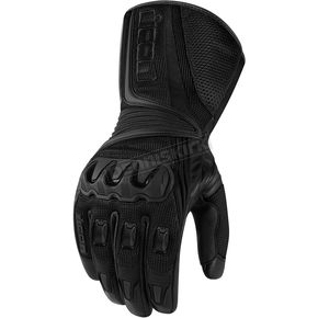 Icon Black Compound Mesh Long Gloves - 33011660