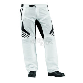 Icon White Compound Mesh Overpant - 2811-0337