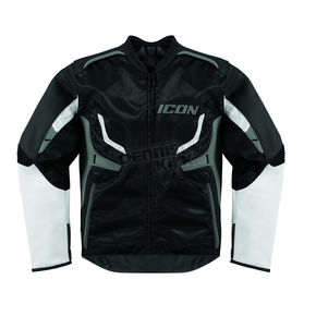 Icon Stealth/Gray Compound Jacket - 2820-2242