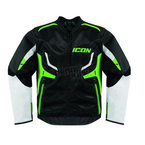 Icon Stealth/Green Compound Jacket - 2820-2247