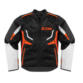 Icon Stealth/Orange Compound Jacket - 2820-2252