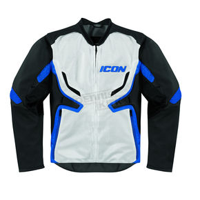 Icon Stealth/Blue Compound Mesh Jacket - 2820-2268
