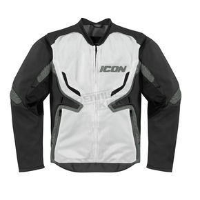 Icon Stealth/Gray Compound Mesh Jacket - 2820-2274