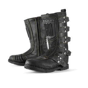Icon Black Elsinore Boots - 3403-0302