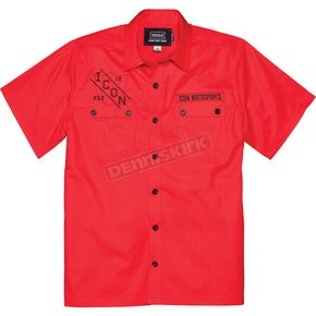 Icon Red Kingsley Workshirt - 3040-1130