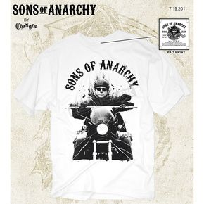 Sons of Anarchy Jax T-Shirt - 28-601-86WH-L