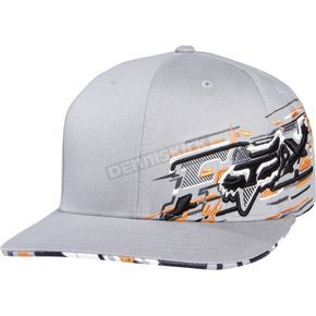 Fox Grey Flare Flex-Fit Hat - 02250-006