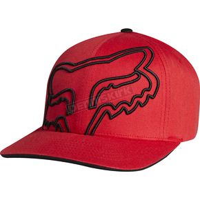 Fox Flame Red Everywhere Flex-Fit Hat - 01291-122-L/XL