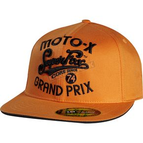 Fox Orange SFMX Hat - 68265-009-L/XL