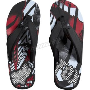 Fox Red Shattered Flip Flops - 59307-003