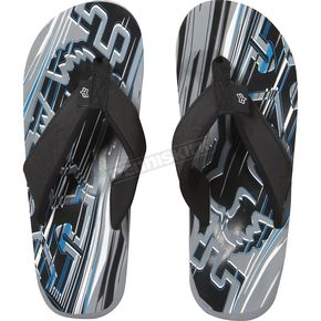 Fox Grey Showdown Flip Flops - 59308