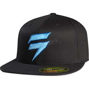 Shift Black/Blue Barbolt Hat - 68300-013-S/M
