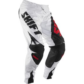 Shift White/Red Reed Replica Pants - 04377-077-30