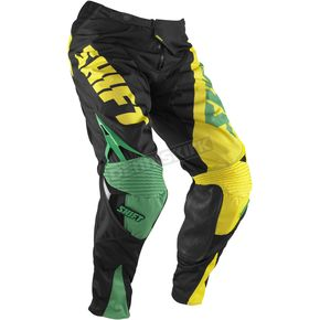 Shift Green/Yellow Reed Replica Pants - 04377-287-30