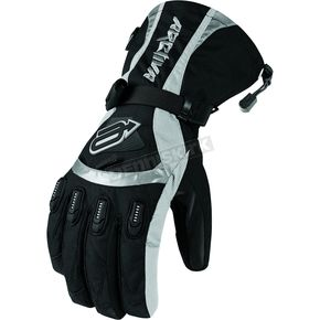 Arctiva Womens Black Comp 7 Gloves - 3341-0203
