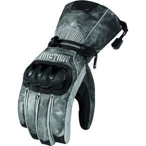 Arctiva Black/Camo Mechanized 5 Gloves - 33400765