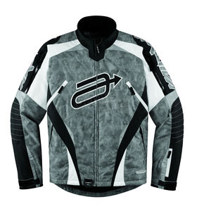 Arctiva Black/Camo Comp 7 Jacket - 3120-0977