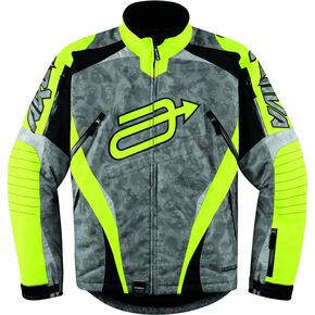 Arctiva Hi-Viz Yellow/Camo Comp 7 Jacket - 31200986