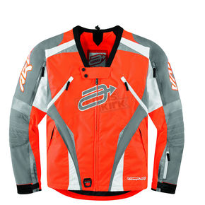 Arctiva Orange Comp 7 RR Jacket w/Neck Brace - 3120-1011