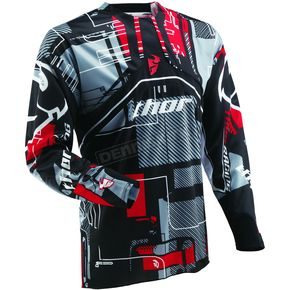 Thor Flux Circuit Red Jersey - 2910-2542
