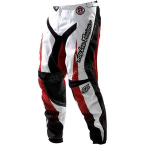 Troy Lee Designs Red Speedshop Grand Prix Air Pants - 0542-0428