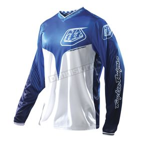 Troy Lee Designs Blue Speedshop Grand Prix Air Jersey - 0742-0308