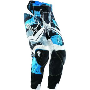 Thor Flux Circuit Cyan Pants - 2901-3792
