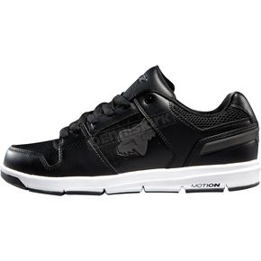 Fox Black/White Eclipse Motion Shoes - 01725-018-9