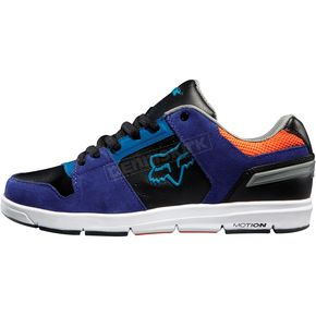 Fox Blue/Black Eclipse Motion Shoes - 01725-023-13