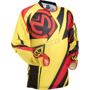 Moose Yellow/Red/Black Sahara Jersey - 29102697