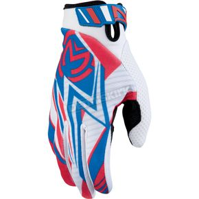 Moose Red/White/Blue Sahara Gloves - 33302611