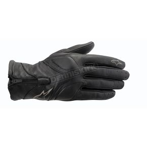 Alpinestars Womens Black Vika Leather Glove - 3515513-10-L