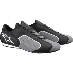 Alpinestars Black/Gray Montreal Shoes - 2610213106-10