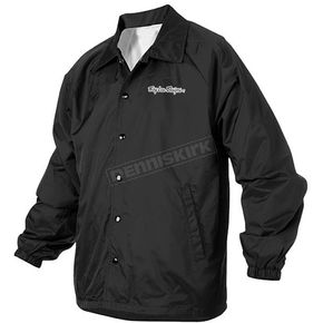 Troy Lee Designs Black Windbreaker Jacket - 3106-0210