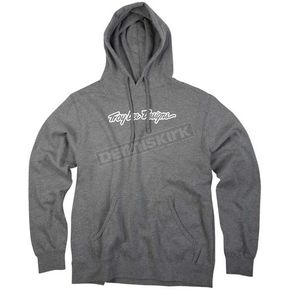 Troy Lee Designs Gray Signature Hoody - 3430-1710