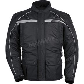 Tour Master Womens Black/Black Transition 3 Jacket - 8777-0305-76